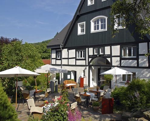 Terrasse Innenhof Neuhaus